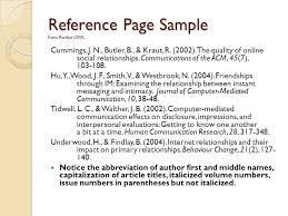 purdue owl apa journal resume exles of non age test interpretation