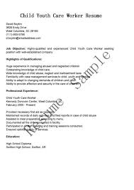 pretty youth worker resume photos child and youth worker cv