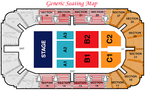 Legacy Arena Seating Chart Basketball Seating Hobart Arena Troy Ohio