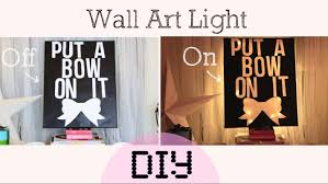 on wall art diy youtube with diy light lamp wall art home decor youtube