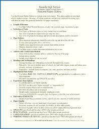 Resume Rubric High School Resume Rubric High School High School