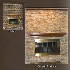astounding resurface a brick fireplace amazing how to refinish brick rh splitsvilla info refinish brick fireplace do yourself refinishing brick fireplace
