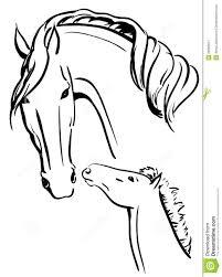 25 Ontwerp Paard En Veulen Kleurplaat Mandala Kleurplaat Voor Kinderen