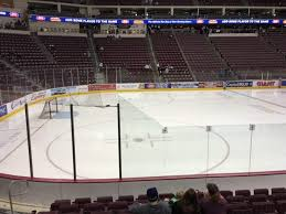 Giant Center Seating Chart Giant Center Section 118 Row H Seat 10 Hershey Bears Vs