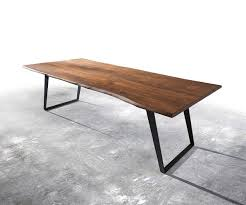 Baumtisch Akazie Amazing Baumtisch Esstisch Aus Ulmenholz