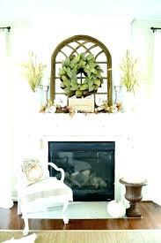 round mirror over fireplace mantel large ideas decor pictures best id