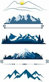 › mountains & moon landscape svg file. Svg Mountains Free Vector Download 85 567 Free Vector For Commercial Use Format Ai Eps Cdr Svg Vector Illustration Graphic Art Design