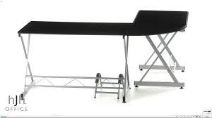 Scrivania per ufficio pc modello easy go in legno e alluminio