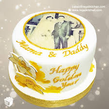 50th Wedding Anniversary Cake Cakes By The Regali Kitchen