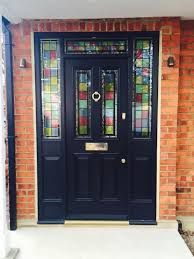 timber doors in high wycombe kirkman joinery the most front door with stained glass window regarding