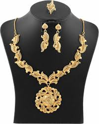 Designer Jewellery Forever 18k Gold Plated Designer Jewellery Set