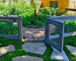 Simple Vegetable Garden Fencing ideas Eclectic Landscape Herb