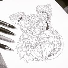 Ornate Schnauzer From My Decorative Dogs