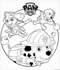 Rocky Paw Patrol Coloring Page Awesome Paw Patrol Rocky And Marshall