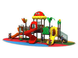 plastic outdoor toddler playset for nursery ry 001