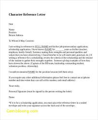 Character Letter Samples Template New Character Letter Of Recommendation Samples Best Of Character