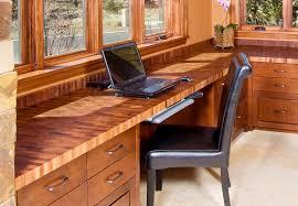 Mesquite End Grain Desk Top