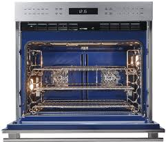 how to clean blue porcelain wolf oven