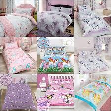 girls duvet covers. Unicorn Duvet Cover Sets Kids Girls Bedding - Junior, Single, Double \u0026 King Covers