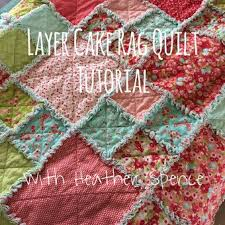 The 25+ best Rag quilt ideas on Pinterest | Rag quilt instructions ... & Layer Cake Rag Quilt Tutorial Adamdwight.com