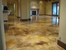 Exellent Basement Flooring Stained Concrete Floor Stainedpolished By Noelle And Design Ideas
