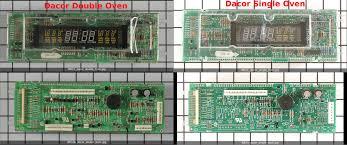 single vs double dacor clock controller