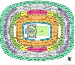 Washington Redskins Seating View Field Stadium Diagram