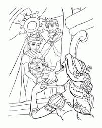 Rapunzel dressed for winter pdf link. Tangled Free Printable Coloring Pages For Kids