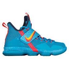 lebron kids basketball shoes. nike lebron 14 - boys\u0027 grade school basketball shoes james, lebron blue lagoon/tour yellow/squadron kids