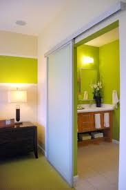 sliding passage door aluminum framed top hung sliding glass door contemporary bathroom