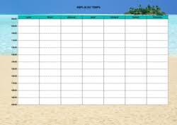 Free Online Schedule Maker Ataventure Com
