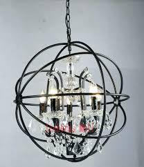 modern candle chandelier chandelier modern crystal orb chandelier lamp lighting rustic candle chandeliers vintage led pendant