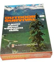 Wildlife Movement Chart Buy Outdoor Survival A Game About Wilderness Skills Box