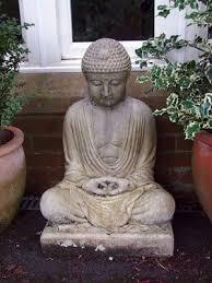 meditating buddha large garden