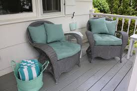 Light Gray Wicker Patio Furniture