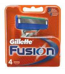 <b>Кассеты Gillette Fusion</b> сменные для бритья, <b>4 шт</b>