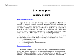 domestic cleaning service business plan sea