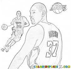 Chris Paul Nba Coloring Pages