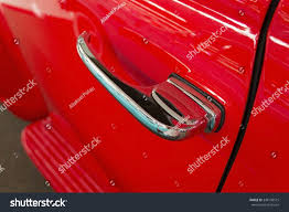 classic car door handle. Red Classic Car Door Handle 1