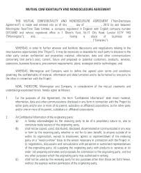 Business Confidentiality Agreement Sample Classy Confidentiality Agreement Template Free Business Disclosure Sample