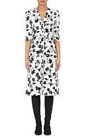Altuzarra Aimee Floral-print Crepe-cady Shirtdress In White   ModeSens    Fitted sheath dress, Aimee dress, Dresses