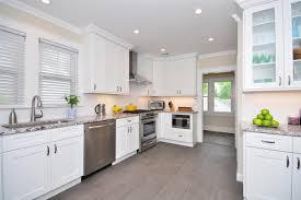 white shaker kitchen cabinets grey floor. White Kitchen Cabinets Ice Shaker Door Style Ki On Cabinet Depot Home Design Ideas Grey Floor E