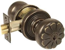 emtek products inc petal style bronze knob lock front door knobs and locks k2 front