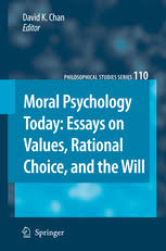 moral psychology today essays on values rational choice and moral psychology today essays on values