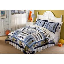 laura hart kids catch a wave twin quilt with pillow sham write a review