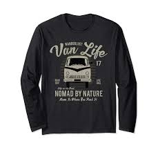 Amazon Com Van Life Nomad By Nature Home Is Where You Park