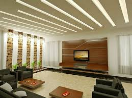 false ceilings design with cove lighting for living room 44