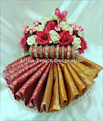 Saree Tray Decoration Unique Saree Bangle Deco Event Ideas Pinterest Saree Event Ideas