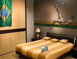 Little Boys Soccer Bedroom  Google Search  ISAAC BEDROOM Soccer Bedroom Decor