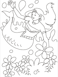 Small Picture Mermaid under water coloring page Download Free Mermaid under